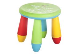 Taborecik dziecięcy okrągły - mix kolorów