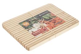 AMBITION Deska z drewna bambusowego PANDA 35 x 25 x 2 cm