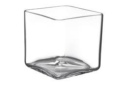 IRENA Wazon szklany h-14 cm kwadratowy