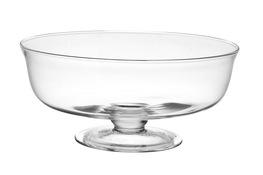 IRENA Salaterka szklana na stopce 30.5 cm
