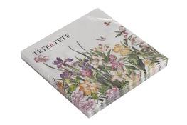 Serwetki papierowe kwiaty 20 sztuk 33 x 33 cm