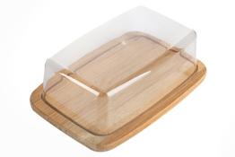 Deska bambusowa prostokątna 19 x 12.5  cm z pokrywą