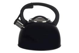 TADAR Czajnik BLACK z gwizdkiem 2.5 L indukcja
