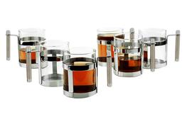 REGENT Szklanki Perle do kawy i herbaty 300 ml 6 sztuk