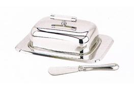 REGENT Maselnica + nóż do masła Perle