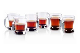 REGENT Szklanki Glitter do kawy i herbaty 200 ml 6 sztuk
