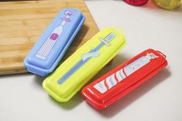 HEGA Pojemnik SAPPORO na szczoteczkę do zębów - mix kolorów