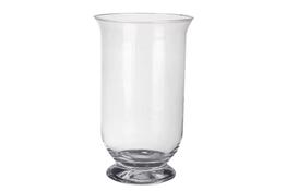 IRENA Wazon szklany na stopce h-25 cm