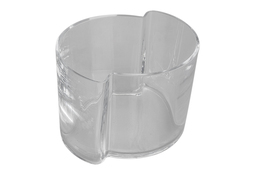 IRENA Wazon szklany h-14 cm