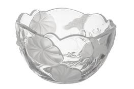 JASŁO Salaterka szklana z kwiatem 12 cm