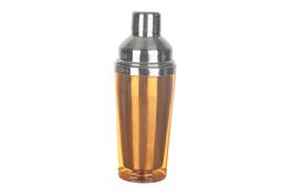 TADAR Shaker stalowy 450 ml pomarańczowy