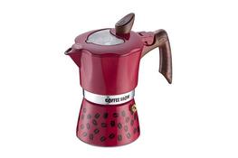 GAT COFFEE SHOW Kawiarka 3 filiżanki 3 TZ czerwona