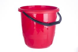 ARTGOS Wiadro Delta 12 L czerwone