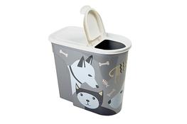 HEGA NIZA ZWI Pojemnik na karmę dla psa, kota 5.7 L - mix wzorów