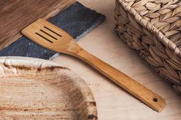 Łyżka kuchenna bambusowa 30 cm