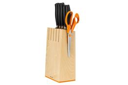 FISKARS FUNCTIONAL FORM+ Noże kuchenne w bloku zestaw 5 sztuk