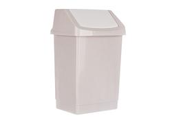 CURVER Kosz na śmieci uchylny 25 L beżowy click it