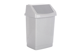 CURVER Kosz na śmieci uchylny 25 L szary click it