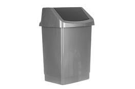 CURVER Kosz na śmieci uchylny 25 L grafitowy click it