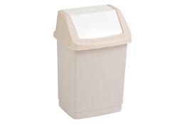CURVER Kosz na śmieci uchylny CLICK-IT 50 L beżowy