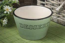 KOOPMAN Miska, salaterka ceramiczna PASTEL 11.5 cm - mix kolorów