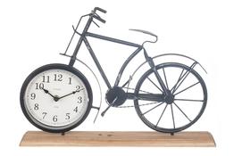 KOOPMAN Figurka dekoracyjna rower z zegarem