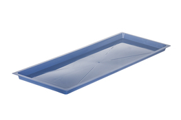 METPOL Korytko, rynienka do suszarki 50 x 19 cm niebieska