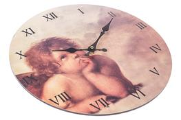 Zegar ścienny z płyty MDF