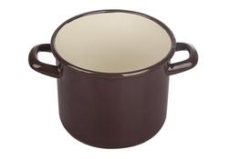EloPol garnek emaliowany 5 L brązowy