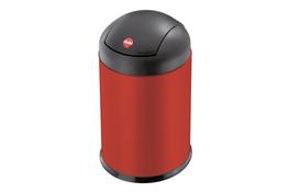 Hailo Sienna Swing kosz na śmieci uchylny S 4 L czerwony