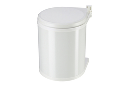 Hailo Compact-Box kosz na śmieci M 15 L biały