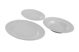 Porcelana Gastronomiczna serwis obiadowy 18/6 0000