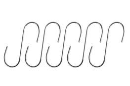Haczyki do wieszaka 5 szt nierdzewne 9 cm, 4 mm
