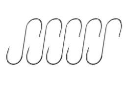 Haczyki do wędzenia 5 szt. nierdzewne 13 cm, 3 mm
