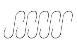 Haczyki do wędzenia 5 szt nierdzewne 13 cm, 4 mm