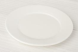Talerz płytki porcelanowy 20.4 cm super white