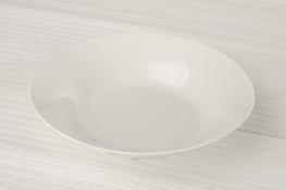 Talerz głęboki porcelanowy 20 cm biały