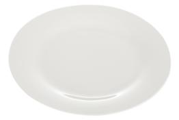 Talerz płytki porcelanowy 26.5 cm biały