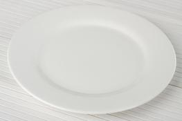 Talerz płytki porcelanowy 25.5 cm super white