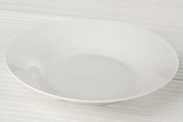 Talerz głęboki porcelanowy 22.5 cm biały