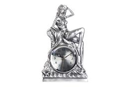 Zegar kominkowy Kobieta