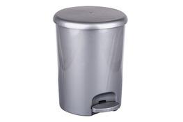 ARTGOS Kosz na śmieci z pedałem OMEGA 5 L srebrny