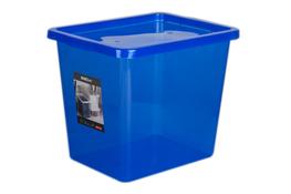 PLAST TEAM BASIC Pojemnik z pokrywą 29 L niebieski