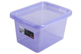 PLAST TEAM BASIC Pojemnik z pokrywą 8 L fioletowy