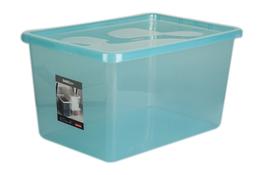 PLAST TEAM BASIC Pojemnik z pokrywą 48 L zielony
