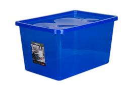 PLAST TEAM BASIC Pojemnik z pokrywą 48 L niebieski