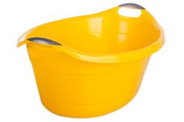 ARTGOS Miska plastikowa owalna 40 L - żółta