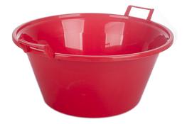 ARTGOS Miska plastikowa okrągła 24 L czerwona