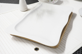 LUBIANA GOURMET  Półmisek prostokątny 36.5 x 23.5 cm 0000