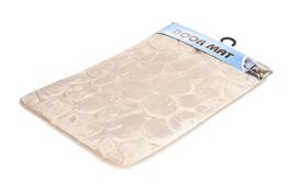 Dywanik łazienkowy 59 x 39 cm brązowy